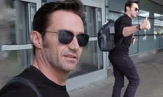 Hugh Jackman Was Stunned After Witnessing Brain Surgery by Hugh Jackman Gives The Thumbs Up After Skin Cancer Surgery