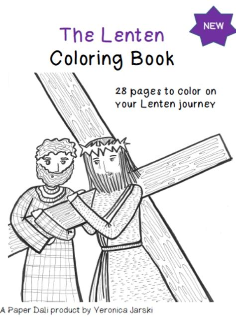 paper dali the lenten coloring and activity book