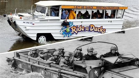 duck boat tour original what is a duck boat how the tour boats came to be youtube