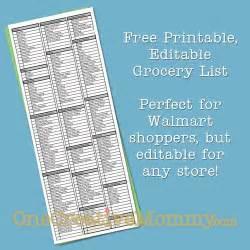grocery list template by aisle freebie friday printable grocery list onecreativemommy