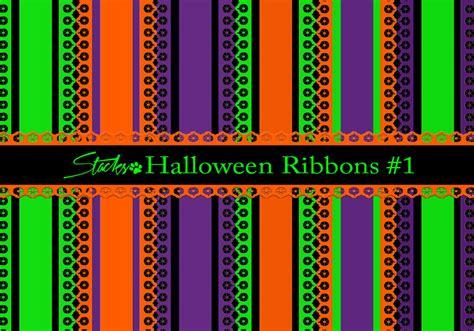 halloween ribbons background   photoshop