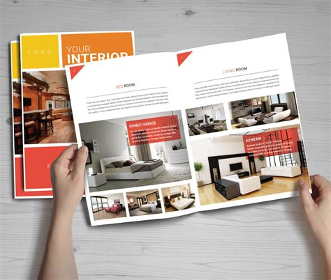 12 free catalog brochure templates in psd format