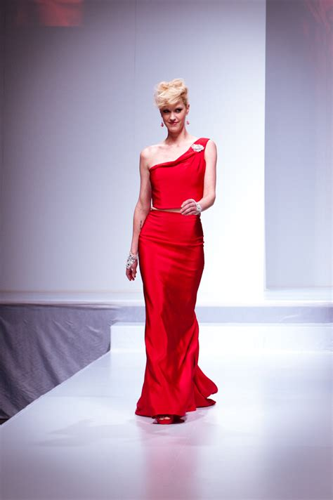 fashion has heart charity extravaganza file lauren lee smith wearing ines di santo heart and