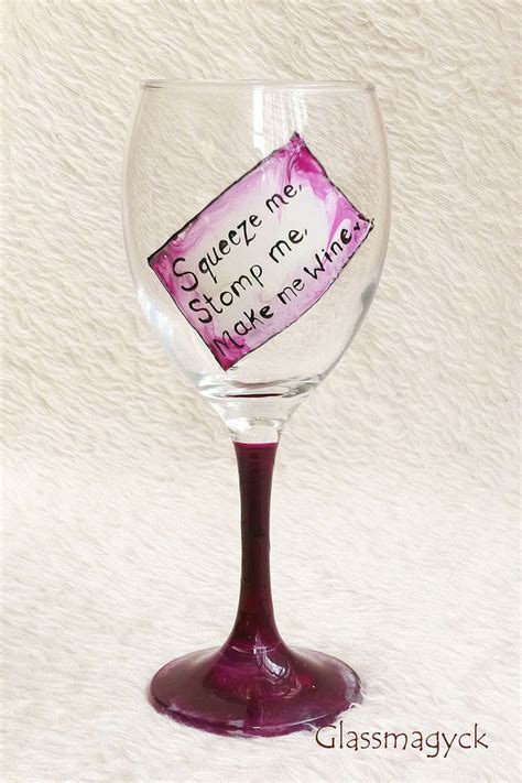 wine glass sayings pink funny quotes wine glass folksy
