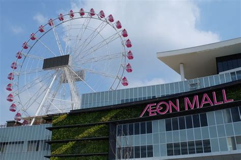 Lipstik Purbasari Di Aeon Mall sky ferris wheel bianglala tertinggi di indonesia backpacker jakarta