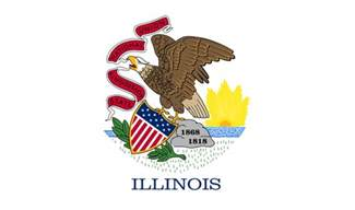 illinois state colors the best and worst state flags of the united states