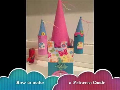 How To Make A Paper Castle Easy - how to make a princess castle with toilet rolls