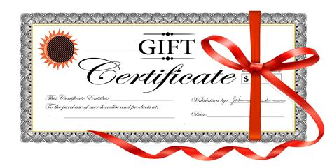Gift Card Certificate - gift certificates wicked sharp