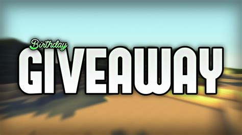 Minecraft Giveaway - it s my birthday minecraft giveaway youtube