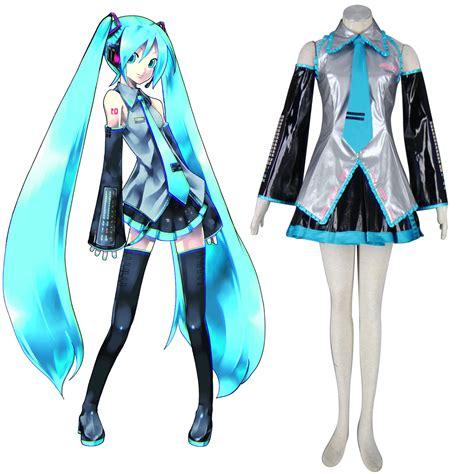 Kostum Hatsune Miku luxus vocaloid hatsune miku 13 faschingskost 252 me