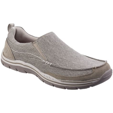 skechers loafers for skechers mens expected tomen slip on canvas loafer