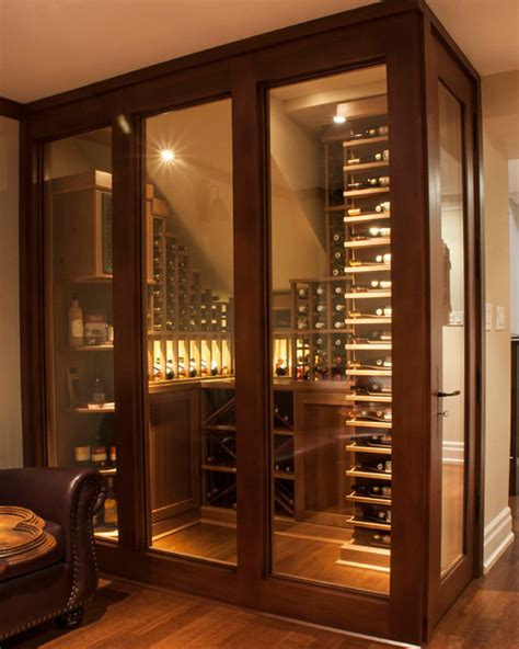 Hanging Wall Dividers by Small Space Wine Cellars By Papro Consulting