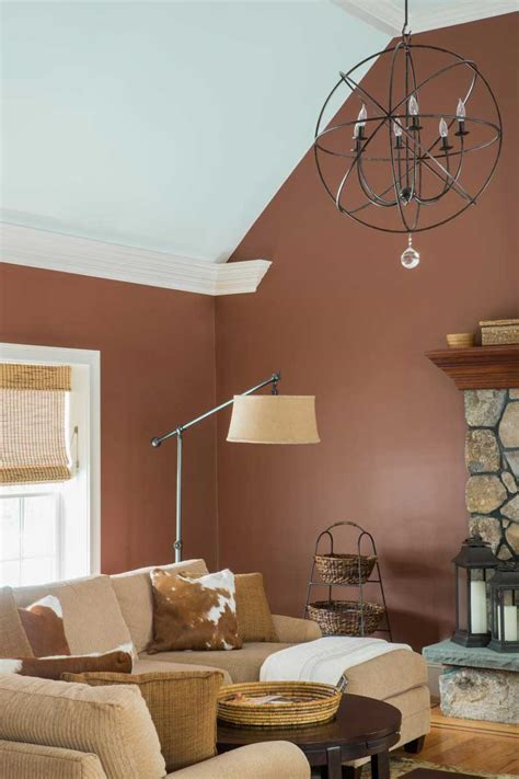 Brown Living Room Walls by 50 Living Room Color Ideas For Your Personal Style