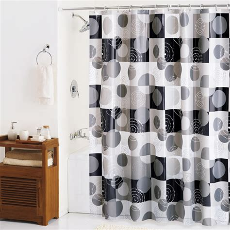 black and white shower curtain walmart black and white shower curtain walmart www imgkid com