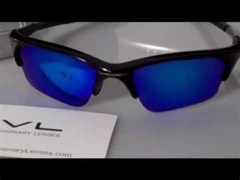 ice blue polarized visionary lenses for oakley half jacket