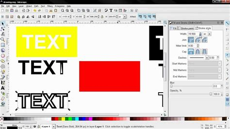 inkscape tutorial youtube deutsch cut out text inkscape tutorial youtube