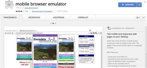 mobile browser emulator 15 tool per visualizzare il tuo sito in versione mobile aq