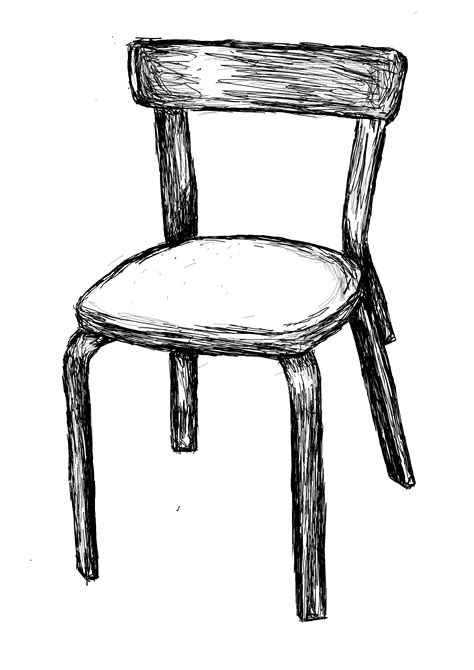 stuhl zeichnung file chair black and white drawing jpg