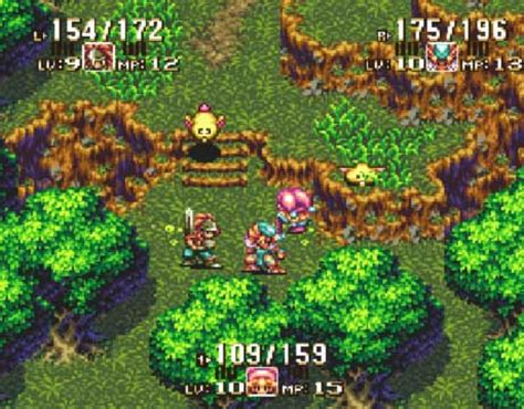 seiken densetsu series | shrines and game info for this series