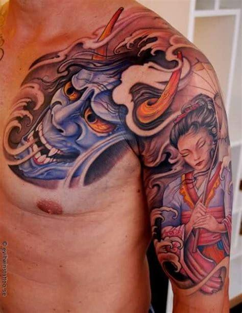 ueo tattoo geisha 180 best images about hannya mask on pinterest ink
