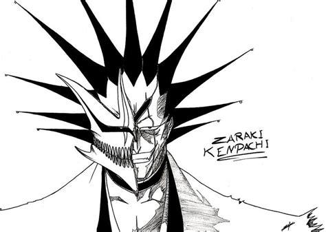 Kaos 3d Black Mask Original Soulpowerstyle zaraki kenpachi hollow mask by elyo11 on deviantart