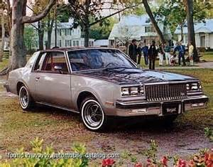 1980 Buick Regal Sport Coupe 1980 Buick Regal Sport Coupe Range Specs