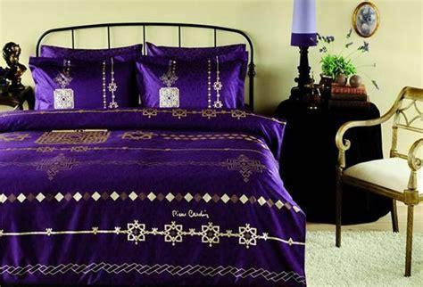 royal purple bedding silky cotton bedding sets blending elegant design by