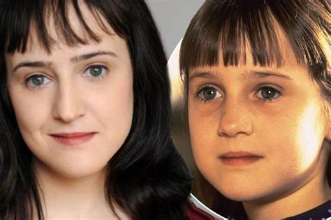 actress name in genius movie matilda actress mara wilson is 28 today see how the
