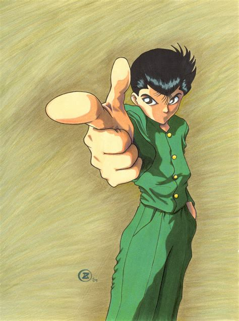 yusuke urameshi by talisx on deviantart