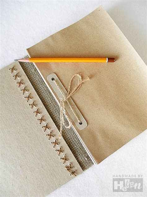 How To Make Handmade Notebooks - notebook diy gifts