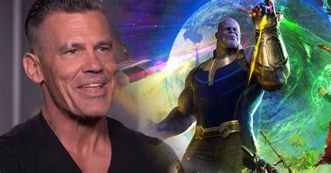 Blind To Reality Josh Brolin Talks Infinity War Amp Avengers 4 Spoilers