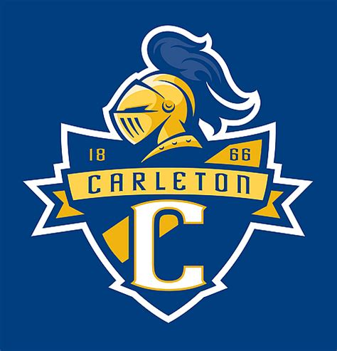 Carleton College Calendar Carleton College Knights Logo Gets Dynamic New Look For
