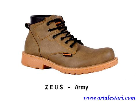 Sepatu Boots Hummer Zeus Army model sepatu pria model sepatu casual dan sepatu boot