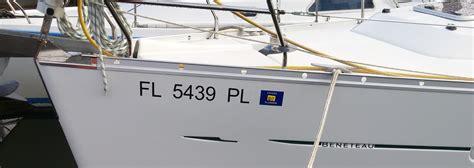 boat lettering sarasota custom boat lettering installed locally names st