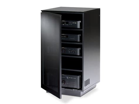 Audio Racks For Enclosed Cabinets Mirage 8222 Av Tower Bdi