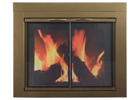 Fireplace Doors Menards by Small Cabinet Style Fireplace Door At Menards 174