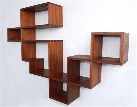 model lemari buku minimalis furniture rumah
