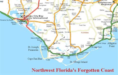cape san blas florida map panoramio photo of map of the forgotten coast florida