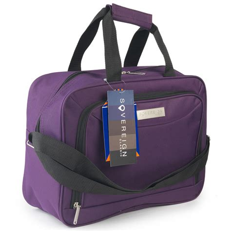 cabin bags uk sovereign cabin bag 30cm purple luggage travel