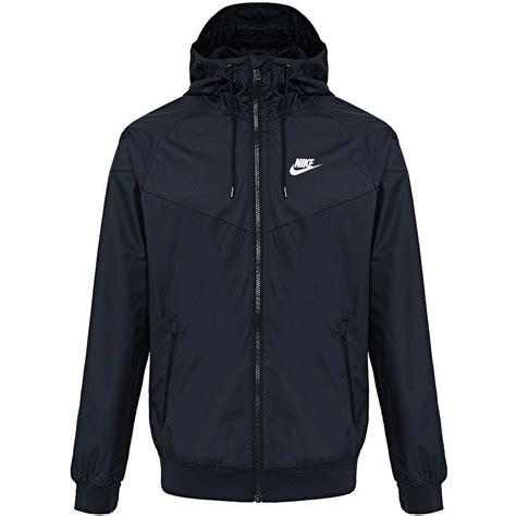 Wind Breaker Jacket nike windrunner hoody jacket black white windbreaker