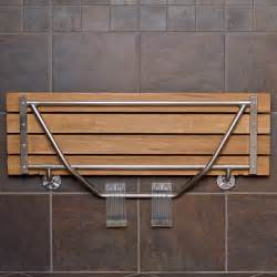 fold wall bench teak shower bench for your breathtaking furniture ideas
