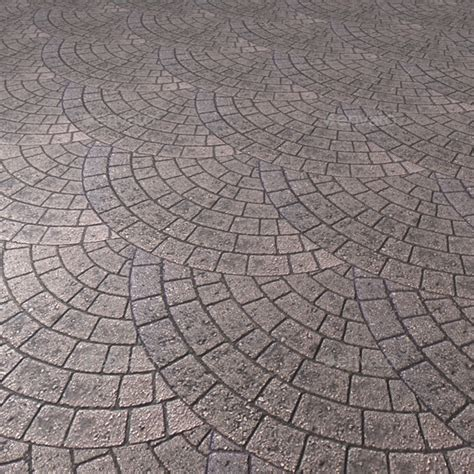 brick paving circle pattern seamless texture by lucky fingers 3docean