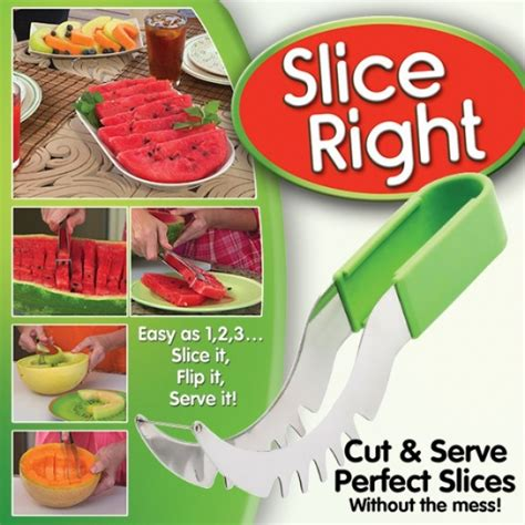 Watermelon Cutter Slice Right Tv Amc slice right as seen on tv gifts