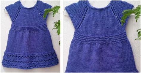 7 Sweet Dresses From Wee by Sweet Wee Knitted Dress Free Knitting Pattern