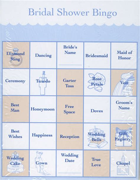 bridal shower bingo template pin bridal bingo template blank on