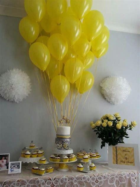 yellow gray white baby shower aly s chevron yellow gray baby shower pinterest white