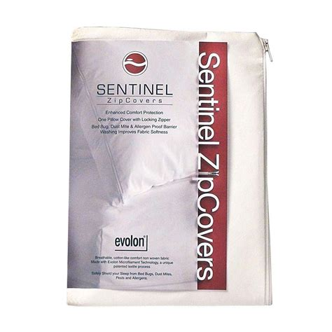orkin bed bug protection pillow encasement king size set sentinel king evolon zippered allergy pillow protector