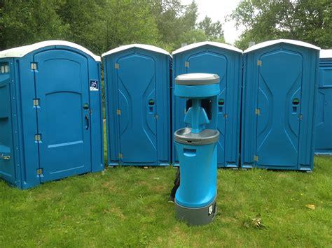porta potty with granite falls portable toilet rentals porta potty for