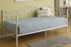 Day Bed Frame Day Bed Day Bed Bedroom Furniture Showroom Categories Poundex Associated Corporation