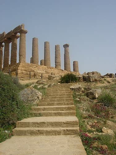 agrigento temples valley  agrigentosicily italy